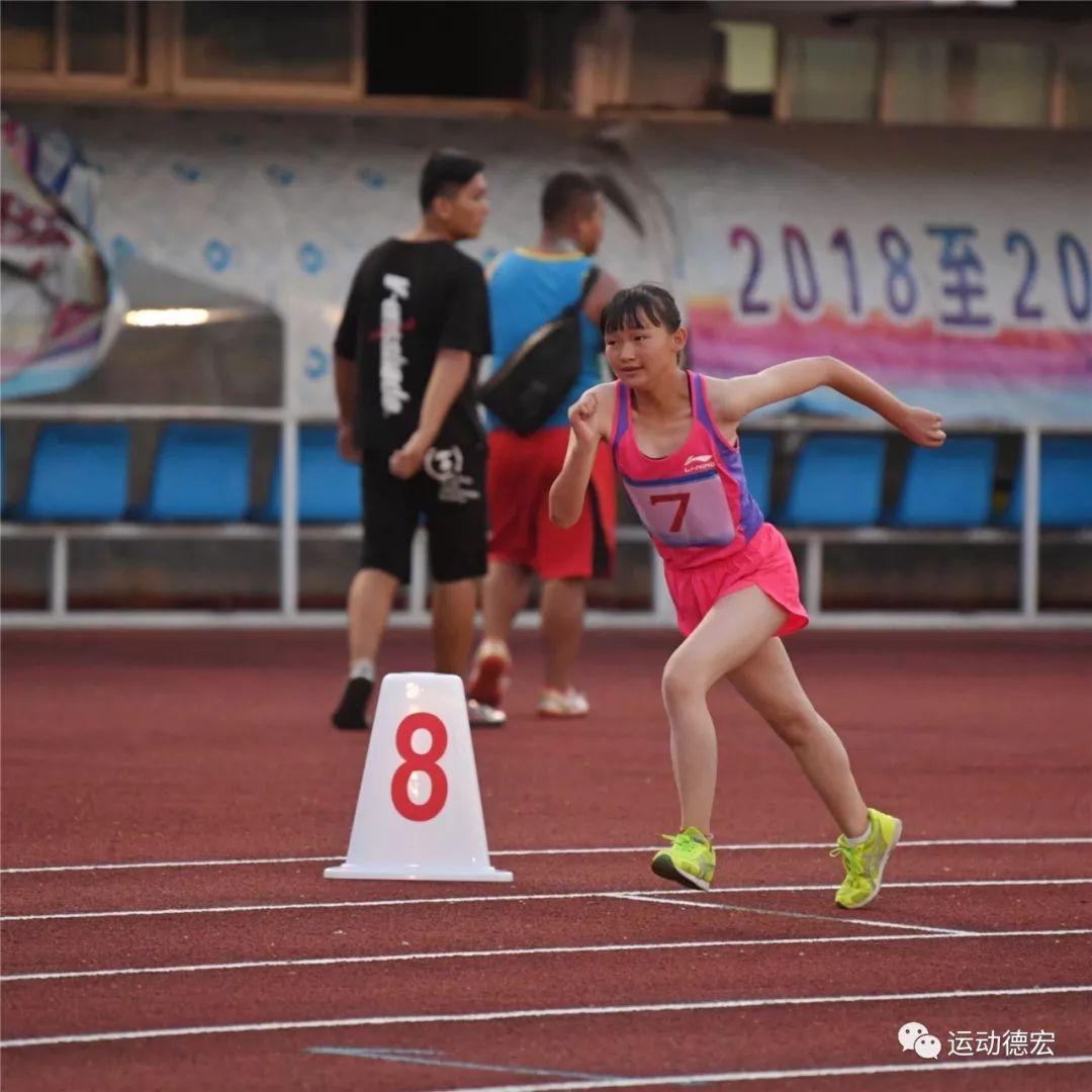 青春的约会 拼搏的舞台——省u系列田径锦标赛激战正酣!