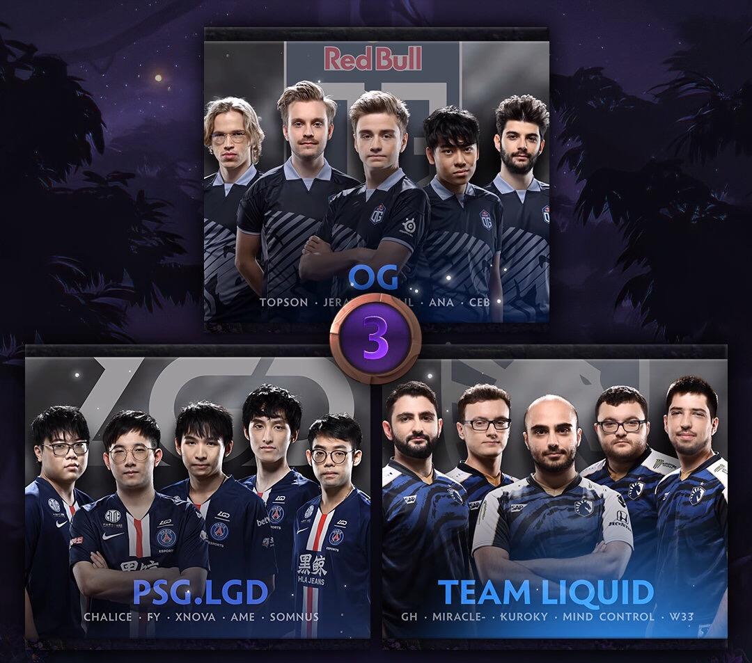 DOTA2:梦碎Ti9,LGD不敌Liquid告别Ti9,中国队无缘决赛!