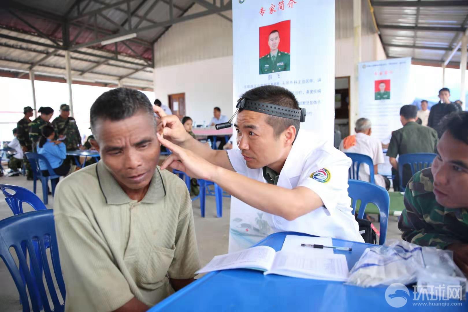 """""""和平列车""""医疗队重返阿速坡开展医疗服务活动"""
