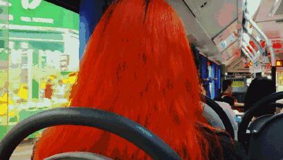 神仙发色!这些染的最飒的头发背后都有一个有故事的Tony