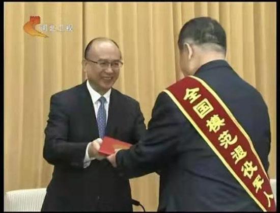 做一名永不褪色的老兵--河北省和谐文化研究会会长王殿明