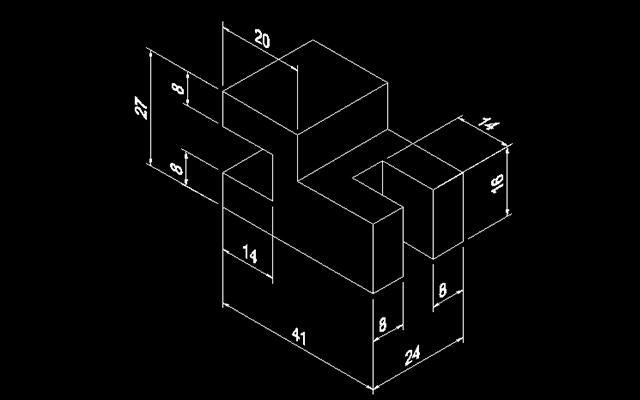 下面这几张cad练习图纸,看一看你是否能够画出来,就当给自己练练手.