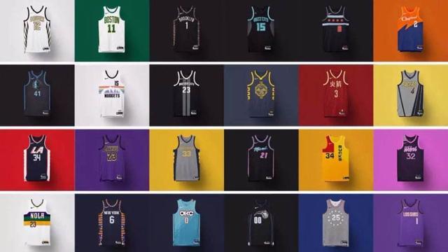 原创NBA历史10件高颜值球衣:热火城市版球衣上榜,公牛乔丹的传奇红