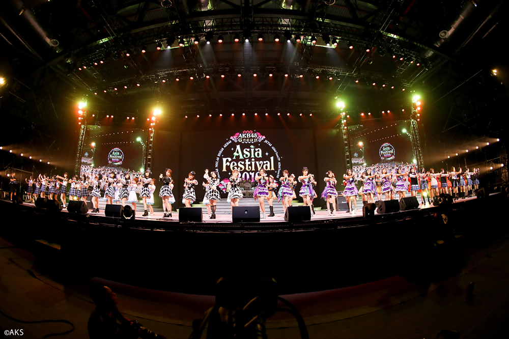 AKB48 Group亚洲盛典超燃落幕 粉丝玩high期待下次相聚
