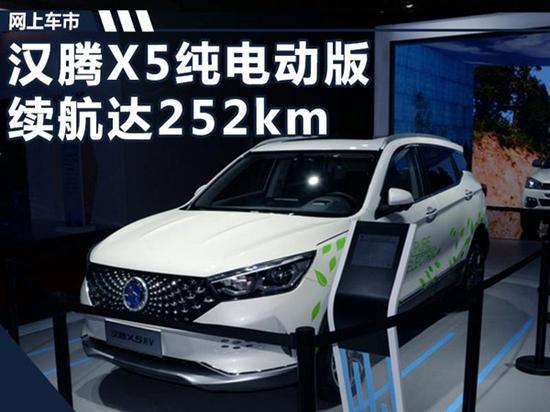 韩腾首款纯电动SUV,综合续航252km
