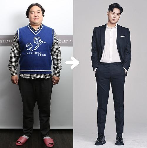 脱胎换骨!韩男星刘在焕成功减重32公斤 对比照判若两人