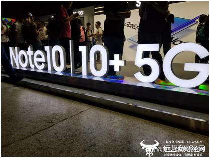 三星Note10 不只凹陷5G  凶猛的还有显示技巧和设备