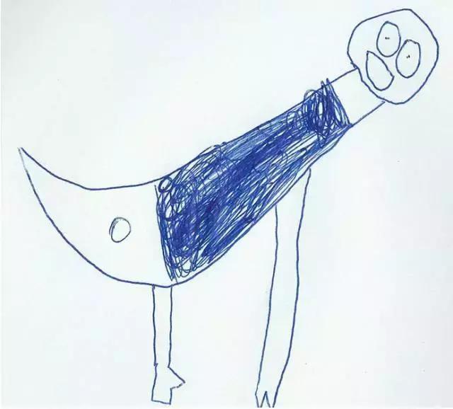 老爸把6岁儿子的简笔画P成现实版,这年头连画画都要拼爹啊