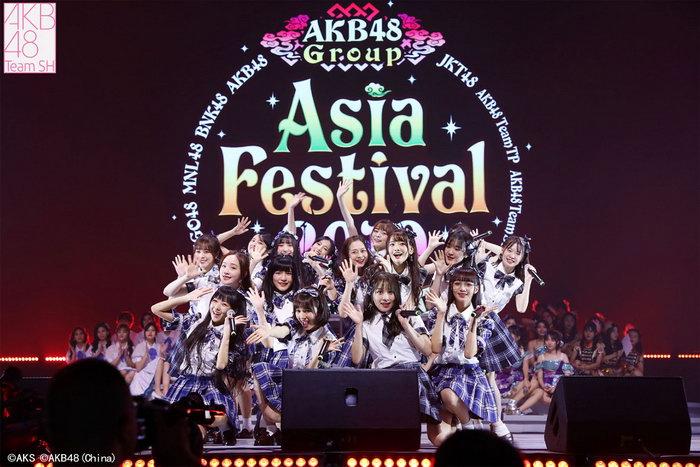 AKB48 Team SH出席亚洲盛典 见面会燃爆魔都