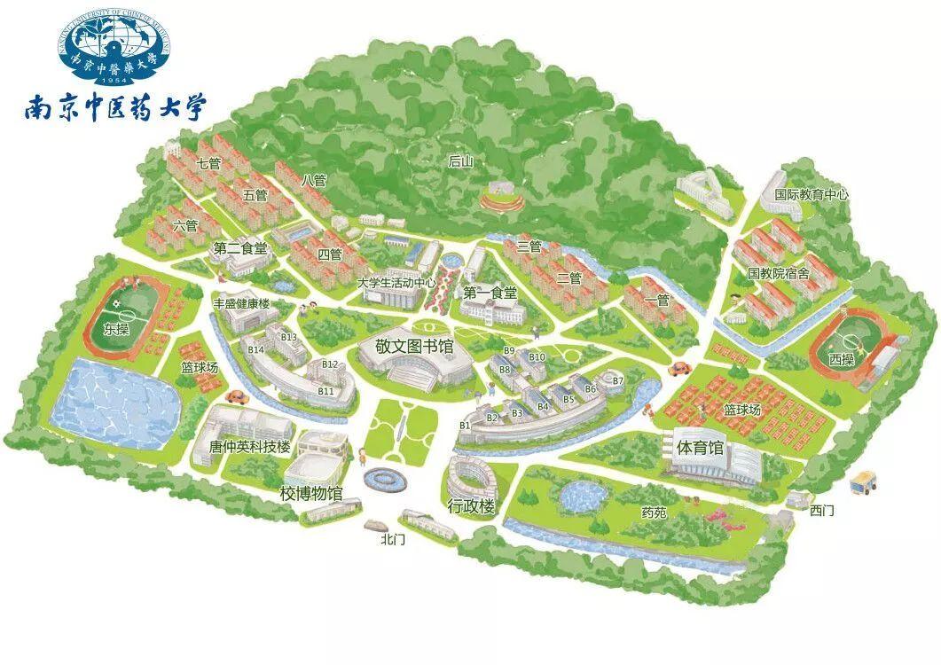 仙林校区平面图