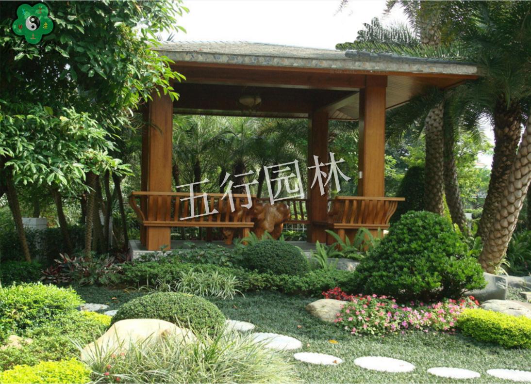 中式庭院绿化景观设计