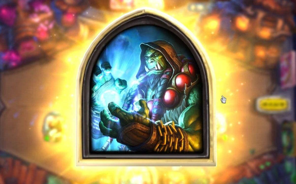 """炉石传说:""""异化战吼萨""""火了,吊锤宇宙猎,T4卡组也能上传说!_对局"""