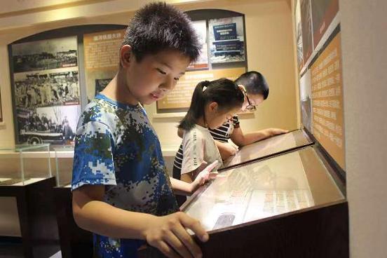 暑期课堂走进蚌埠火车站站史陈列馆