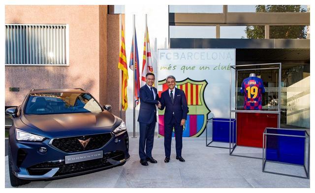 巴塞罗那足球俱乐部与CUPRA开启五年合作