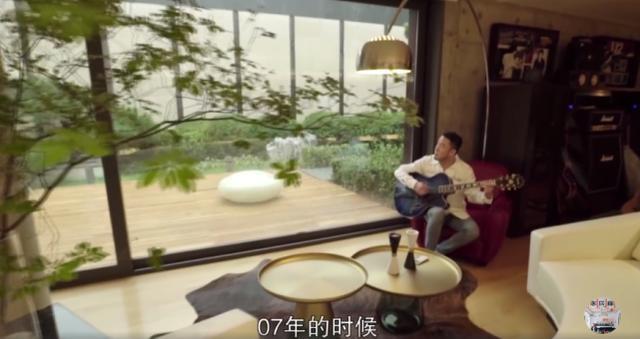 杨坤首度曝光其豪宅,装修华丽充满创意,相当有品味
