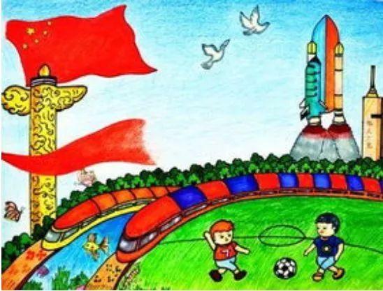 我和我的祖国 少儿绘画创作比赛火热报名中,还等什么 快戳进来看看