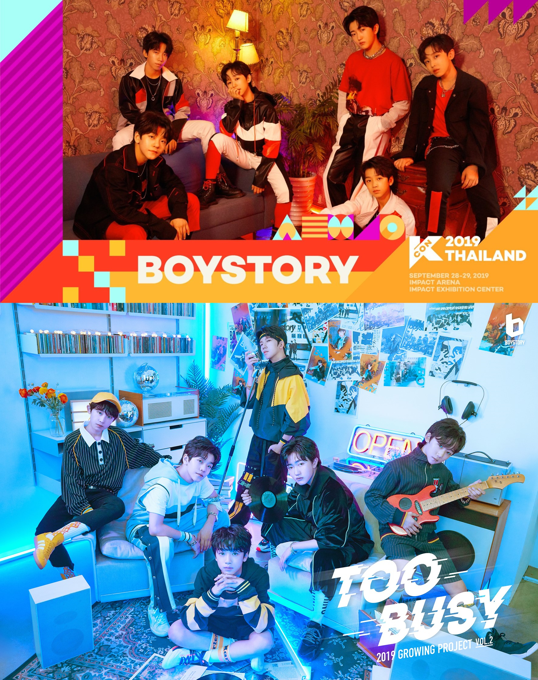 <b>JYP中国组合BOY STORY确定出演KCON 2019 THAILAND</b>