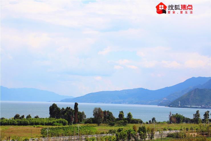 抚仙湖又有新玩场!搜狐焦点实探今年10月开街的广龙小镇