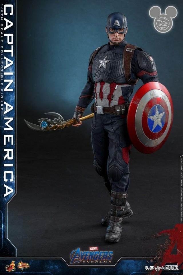 模玩资讯:HotToys《复仇者联盟:终局之战》美国队长(特别版)_比例