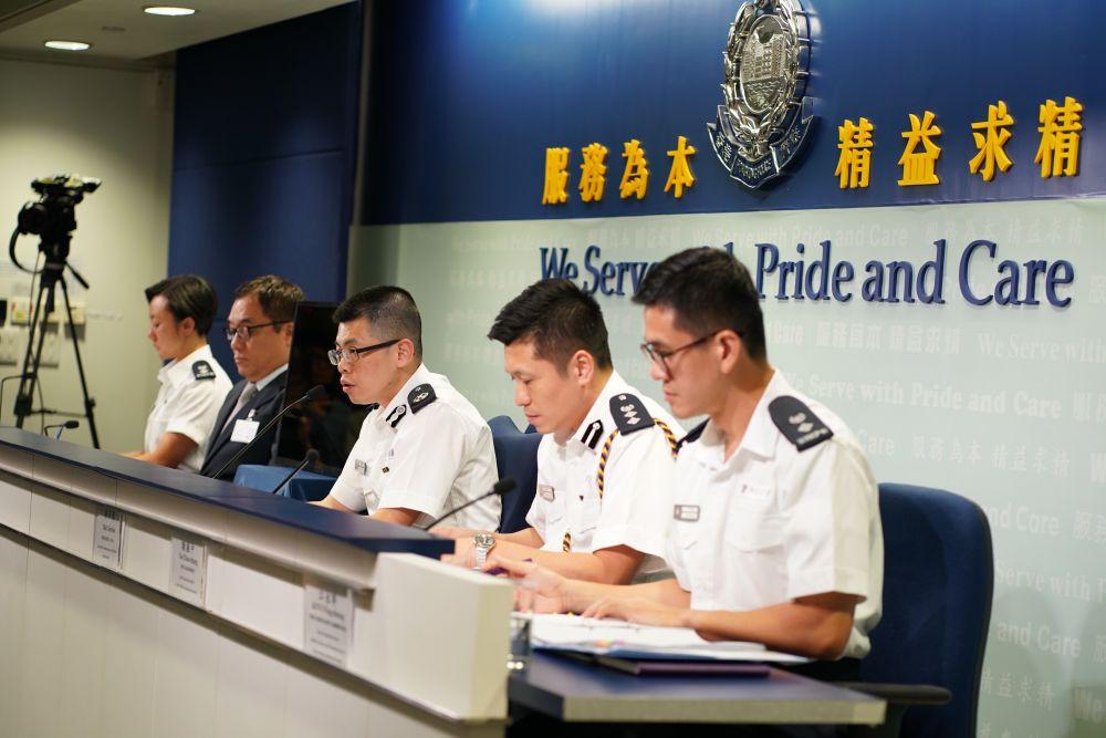"<b>香港警方:将继续保护市民安全,呼吁市民向暴力说""不""</b>"