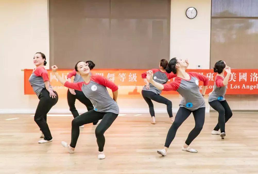 民族民间舞考级中?_多彩海外 | 2019夏季北美中国民族民间舞蹈等级考试1