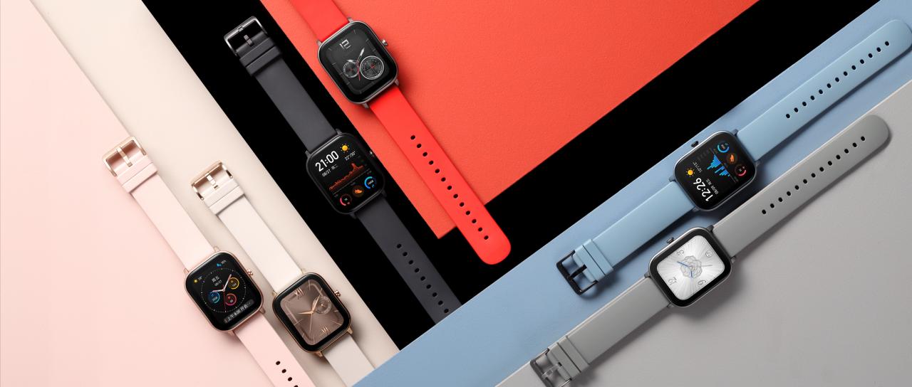 华米发布 899 元智能手表新品,还有曲面概念手表登场_Amazfit