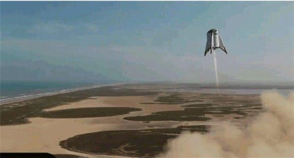 SpaceX星际飞船原型测试成功,创造悬浮150米新纪录_发动机
