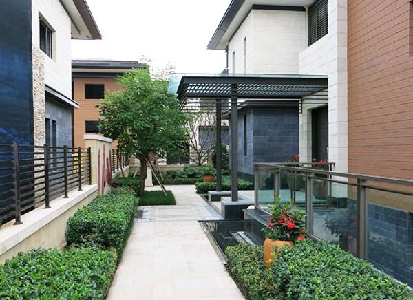 別墅花園景觀設計,園林風格可以是中國式,歐式,現代式等,也可以將不同