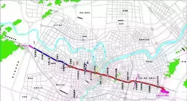 镇海新城南区规划图