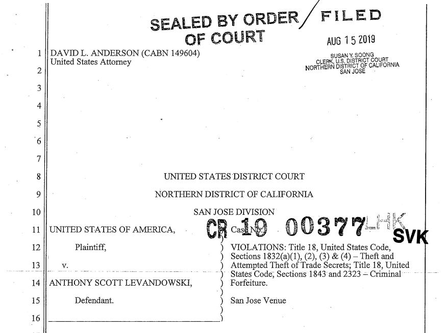 无人驾驶元老原告状,盗取谷歌1.4万份机密文件给Uber,或面对十年羁系