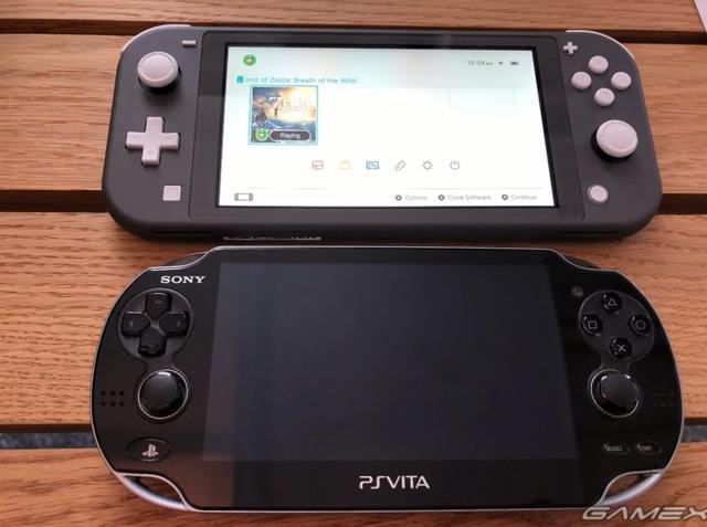 「兼职论坛大全」Switch Lite与历代掌机对比 比原版小太多接近PSV