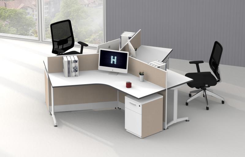 屏风工作位适合什么样的办公空间?