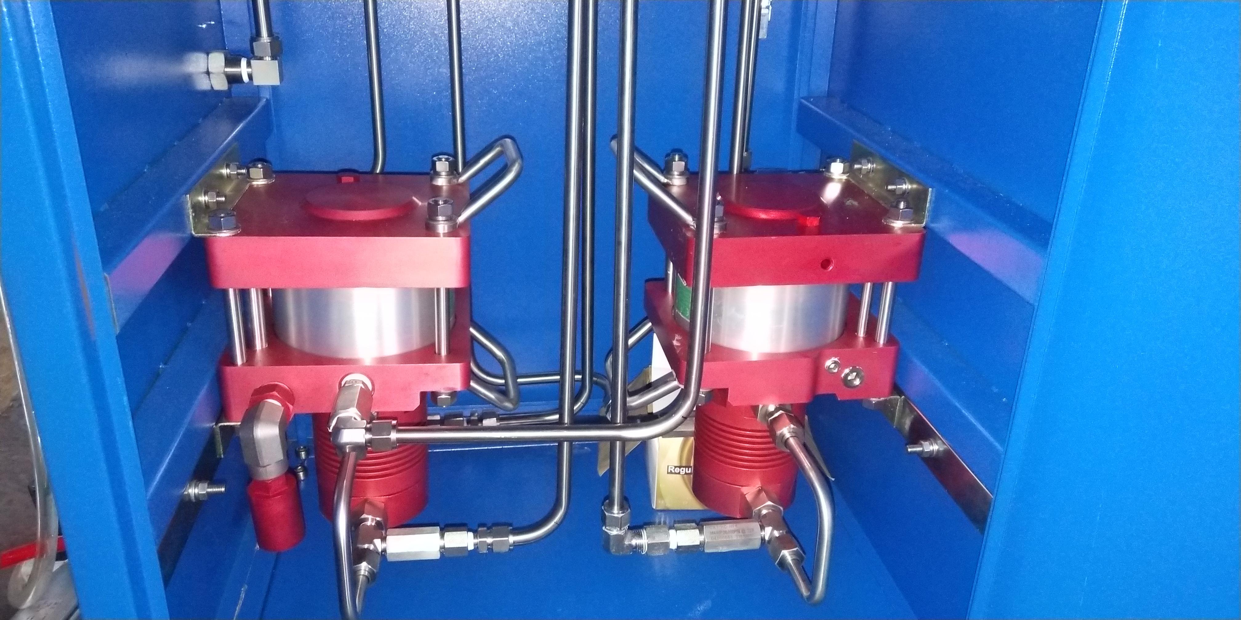 大流量气动气体增压系统图片