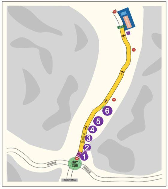 """""""商业化进程挑战赛""""5个比赛场景+竞速段行驶路线图"""