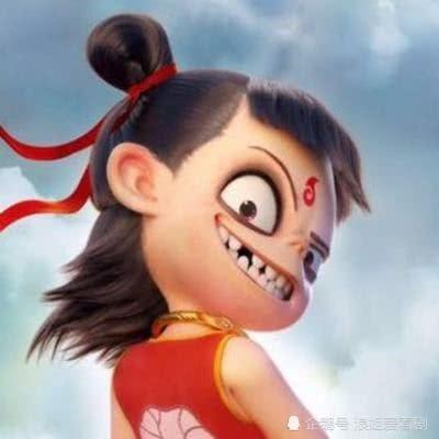 """《哪吒之魔童降世》小哪吒""""萌化""""藕饼粉丝的高甜表情"""