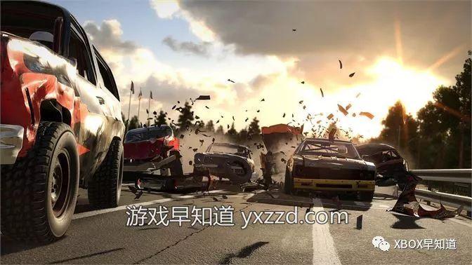 XboxOne火爆多人竞速游戏《撞车嘉年华》正式发售支持官方中文_赛车