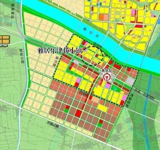 宝坻高铁2020规划图