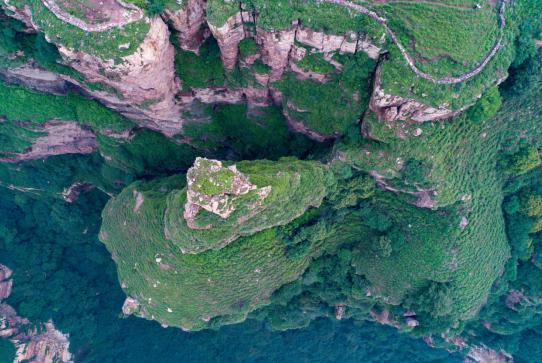 航拍和顺:人与自然和谐共融