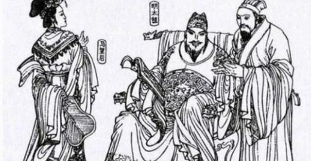 朱元璋、马皇后和丞相李善长.