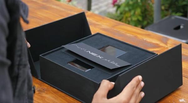 首发瀑布屏,vivo NEX 3开箱上手,这颜值多少钱都要买