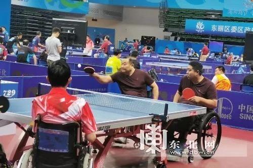 第十屆殘運會黑龍江乒乓球隊昨日獲1金1銅
