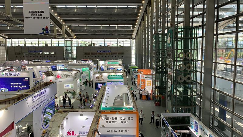捷配亮相2019第六届深圳国际电路板采购展览会