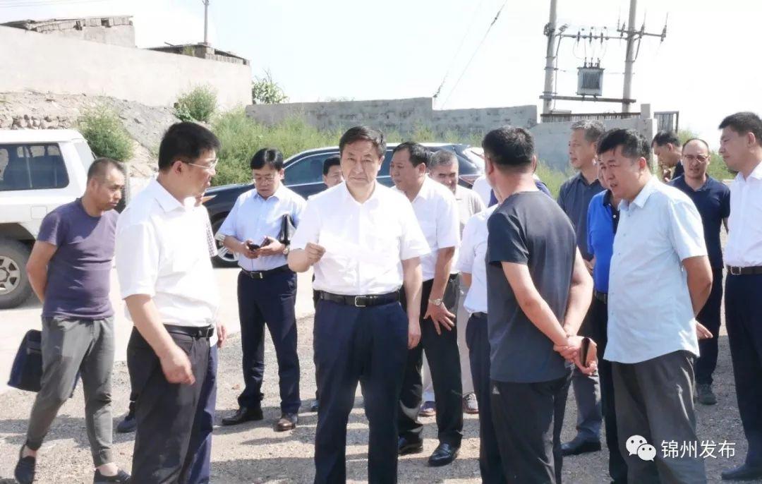 市长于学利调研锦凌水库水源地保护工作