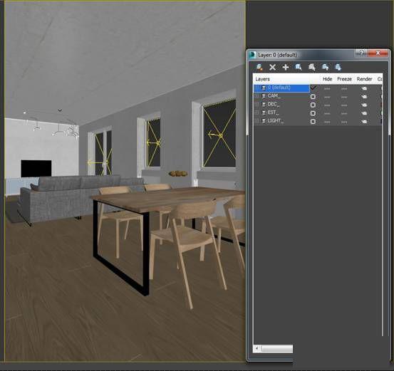 第五期,3dmax做出公寓梦想?高逼格的教程v公寓教程效果视频教学打印机效果图片