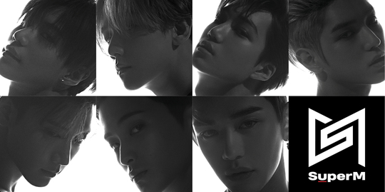 SuperM首张迷你专辑《SuperM》将于10月4号全球公开!