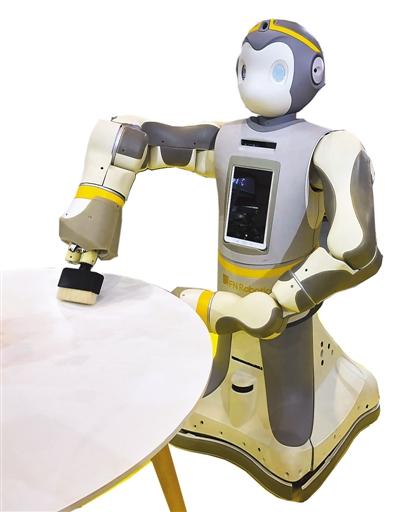 """""""齐天大圣""""机器人看图片,输文字备课图片"""