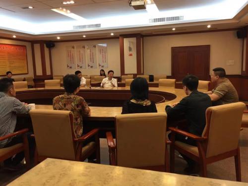 马来西亚雨林控股董事长WillZhang张震一行到访广东揭阳市政府相关部门