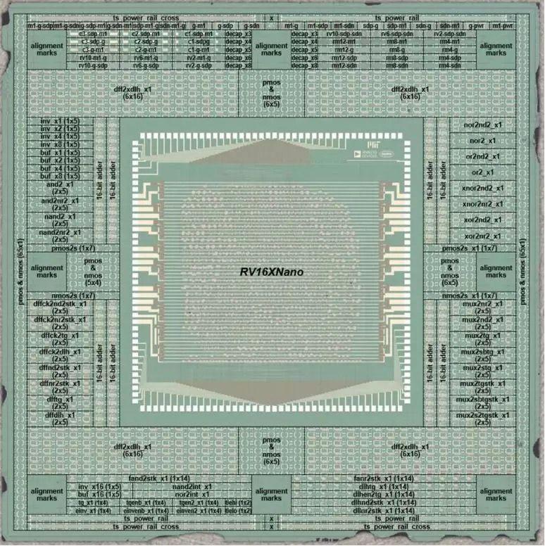 首款碳纳米管通用计算芯片问世:16位RISC-V处理器