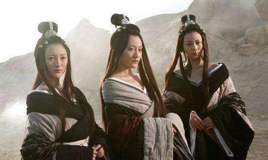 三位上古美女,一仗没打也被封神,其中一位,还成月亮女神