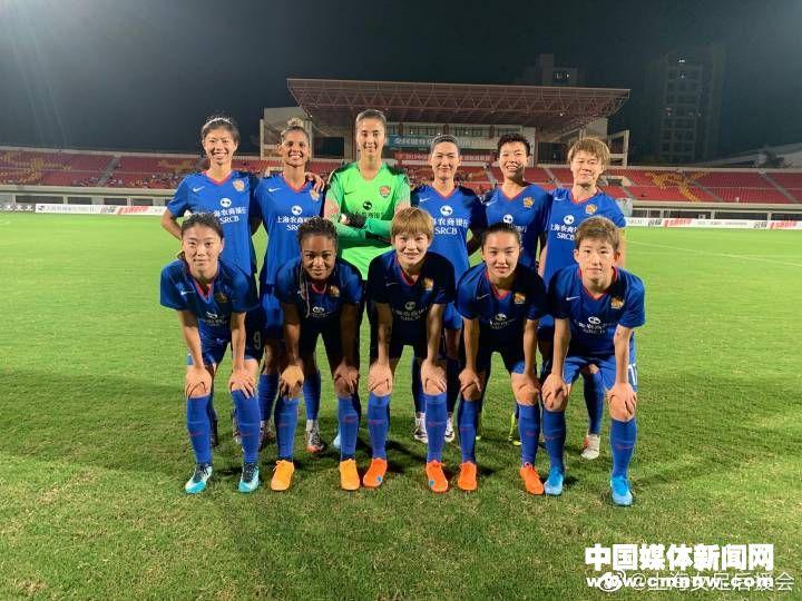 在昨晚结束的2019女超联赛第六轮的一场补赛